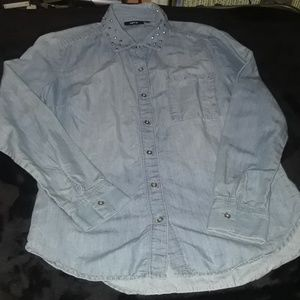 Apt 9 Denim shirt
